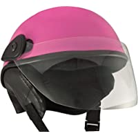 Anokhe Collections Racing Master Half Helmet (Extra Large, Pink Glossy)