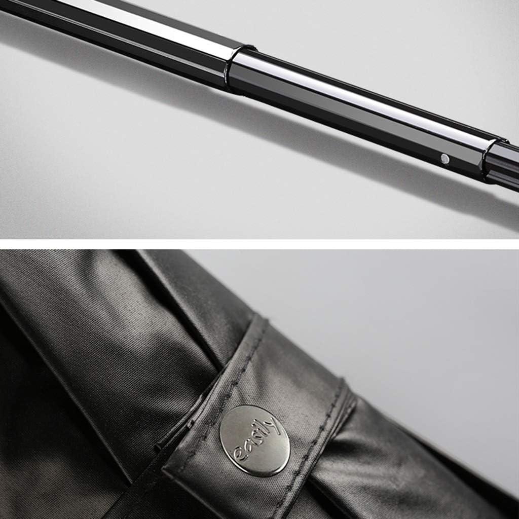 Folding Umbrella 8 Bone Umbrella Stand UV Protection Rain Dual-use Five-fold Umbrella Color : B