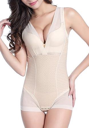 abd922270ab43 DODOING Women Body Shaper Bodysuit Corset for Slim Butt Lift Slimming Shapewear  Bodysuits