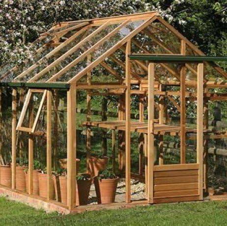 Invernadero de cristal templado Classic 7, 2 m²: Amazon.es: Jardín