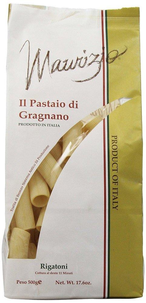 Maurizio - Italian Rigatoni Pasta, (4)- 17.6 oz. Pkgs.