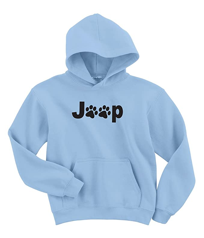 Gotta Love It! Jeep Paws Hoodie in 5 Colors