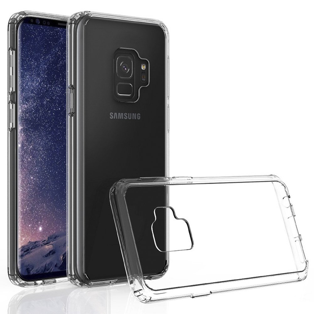 Samsung Galaxy S9 Plus Case Scratch Resistant Goospery New Bumper X Black Transparent Cover Tpu And Pc Protective Back For 62inch