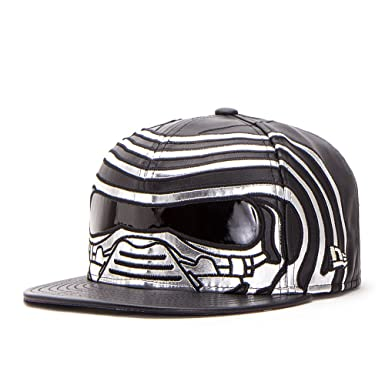 15c1ed4441b08 Star Wars Last Jedi Kylo Ren Armor 59Fifty Fitted Hat at Amazon ...