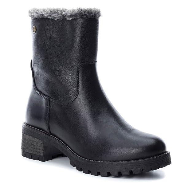 Carmela 065884 Botín DE Mujer Carmela 065884 Piel Mujer: Amazon.es: Zapatos y complementos