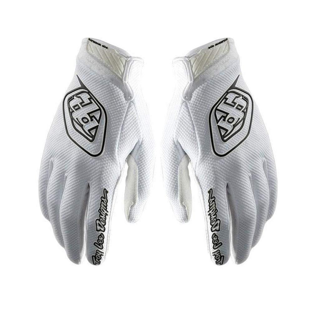 YGQersh Gants de Cyclisme 1 Paire de v/élos de Sport de Plein air Anti-d/érapant Doigt Complet Unisexe Blanc XL