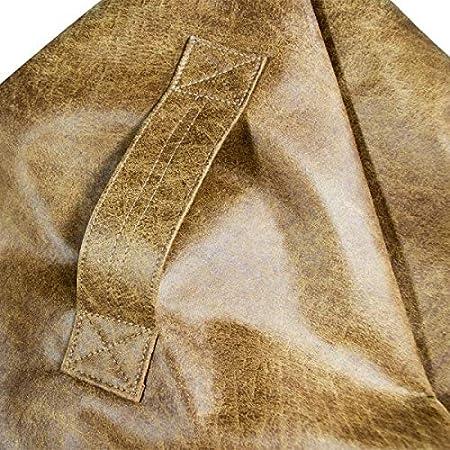 Pouf Sacco Exclusive! Pouf Sacco 77 /Ø x 90 cm Pouf A Sacco Sfoderabiile Puff Sacco Elegante Imbottito Italpouf Pouf Sacco Pelle Naturale Poltrona Sacco Pelle Naturale Pouf Sacco Pelle L