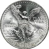1985 MO Mexico Libertad 1 oz Silver%2C 1