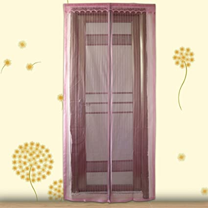 Insect Door Curtain Anti Mosquito Fly Insect Magnetic Screen Door Hands-Free Auto Shut Curtain : insect door - pezcame.com