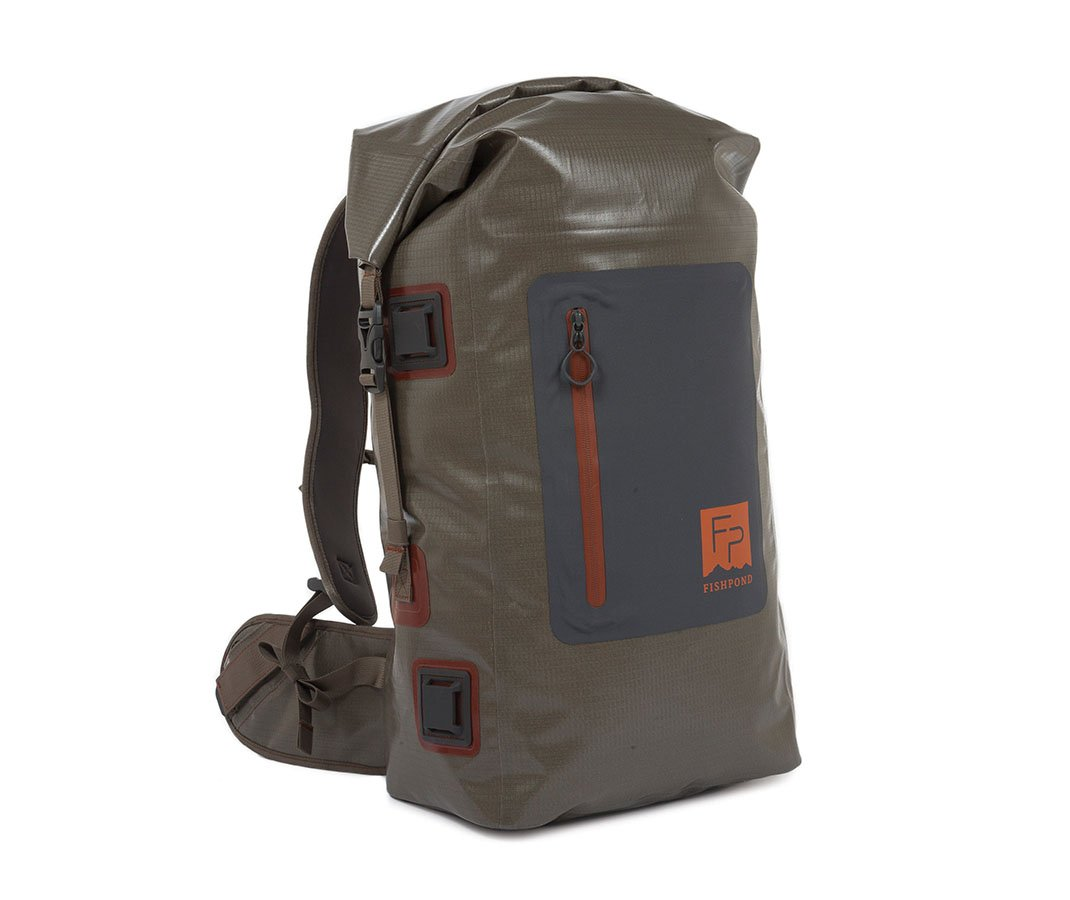 Fishpond Wind River Roll-Top Backpack, Gravel by FishPond
