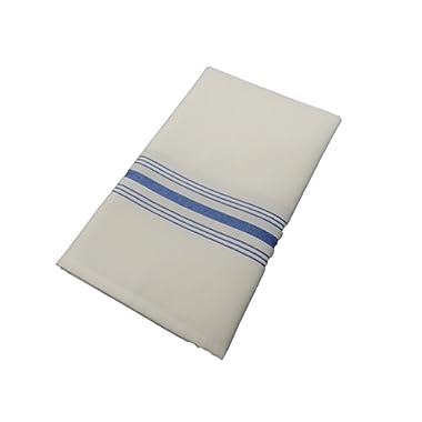 Milliken Signature Stripe Bistro Napkins - Assorted Colors - Set of 12 (Blue)