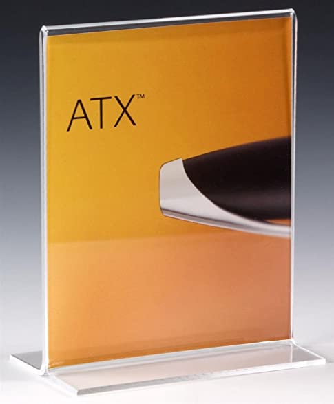 Amazoncom Displaysgo Tabletop Sign Holder For X Photo Or - Restaurant table top sign holders