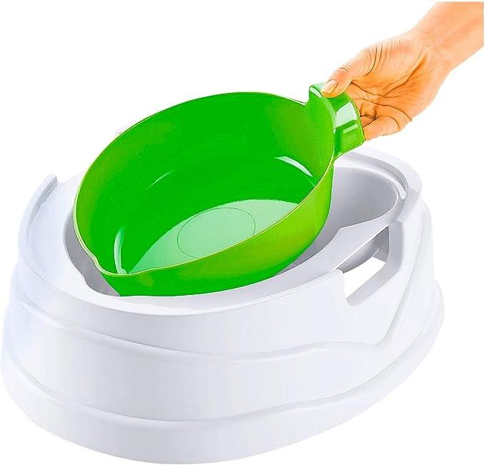 BABY-WALZ Siège Deluxe 3 en 1 « Grenouille » toilettes bébé pot bébé vert