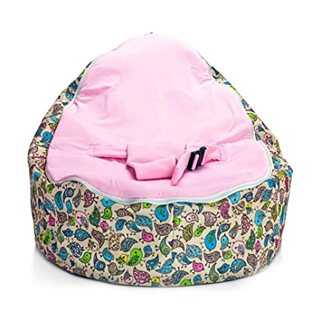 Stupendous Fokine Baby Bean Bag Chair Cover Newborn Baby Bean Bag Chair Lounger Sleeping Bed Nursery Portable Seat Without Filling Machost Co Dining Chair Design Ideas Machostcouk