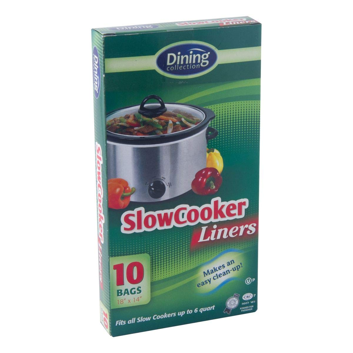1 Dining Collection Slow Cooker Liners 10 Bags 14x18