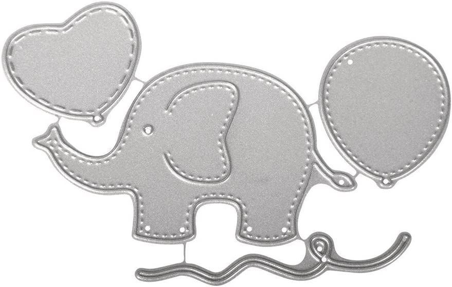 CARDMAKING SIZZIX DIE-CUTS NEW 12 CARD ELEPHANTS CHILDRENS CRAFTS