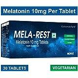 Carbamide Forte Sleeping Aid Pills Mela-Rest Melatonin 10mg (30 Veg Tablets)