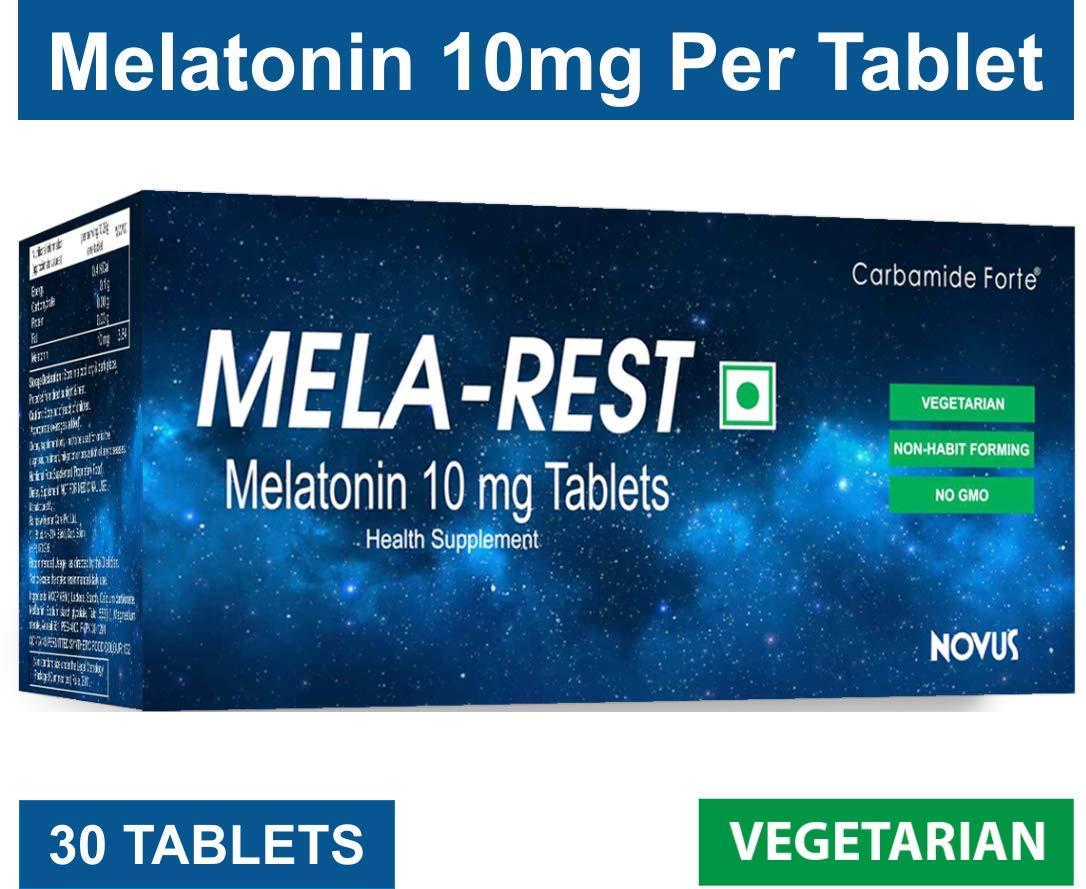 Buy Carbamide Forte Melatonin MELA-REST 10mg Softgel Natural ...