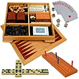 : Deluxe Wood Game Center