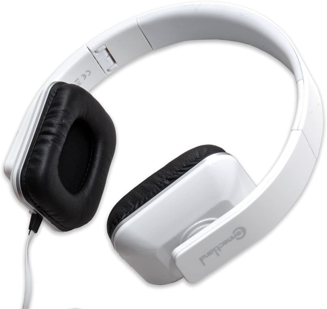 Connectland CL-AUD63089 Foldable Stereo Headphone with Inline Microphone for Desktop and Smartphones