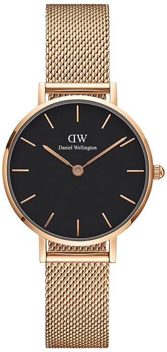 Daniel Wellington - Reloj de mujer de malla metálica de 28 mm, ref.:DW00100217: Amazon.es: Joyería