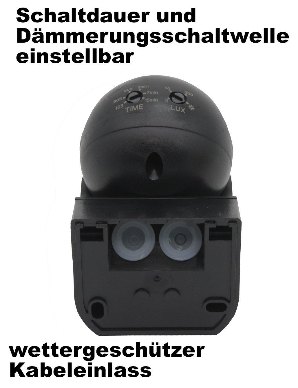 ChiliTec 22240 - Detector de Movimiento (IP44, orientable, 230 V): Amazon.es: Bricolaje y herramientas