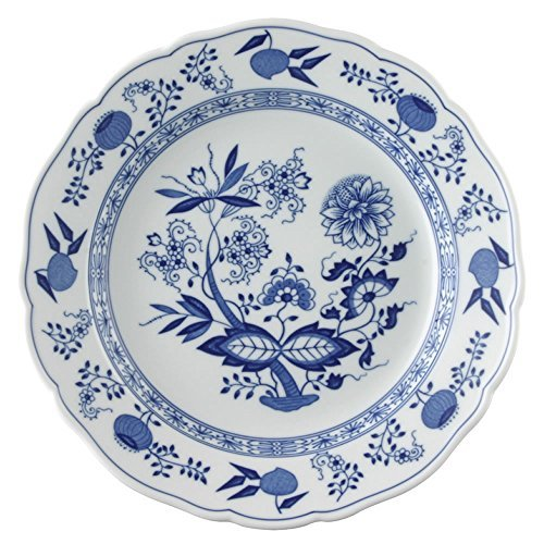 Hutschenreuther Coup with Onion Pattern - DINNER PLATE 25 cm with Rim, Blue by Hutschenreuther