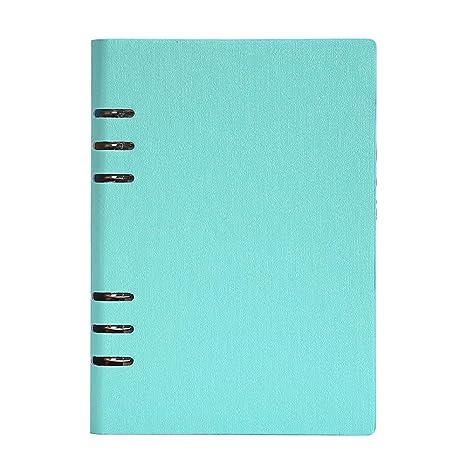 Amazon.com: Cuaderno de anillas redondas para cuaderno ...