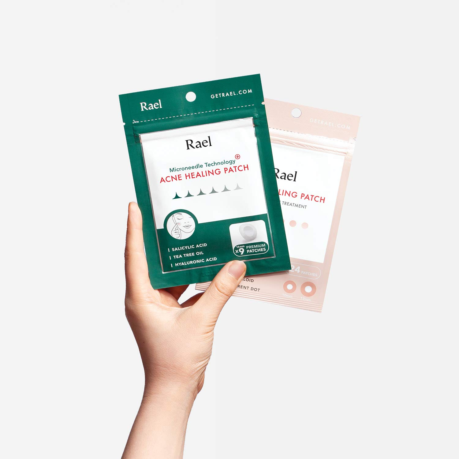 Rael Microneedle Acne Healing Patch - Pimple Acne Spot Tea Tree Treatment (4Pack, 36 Patches) by Rael (Image #7)
