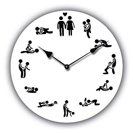 SHENCHI Orologio da Parete Design Sesso 24H Il Giorno 30CM Diametro ...
