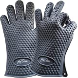 HoTime Silicone Cooking Gloves