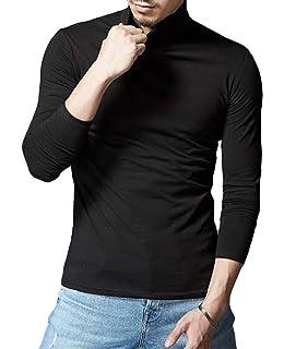 Cromoncent Mens Vogue Slim Fit Spell Color Button Front Long Sleeve Dress Shirts