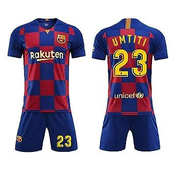 Jersey De Fútbol para Niños - Barcelona # 23 UMTITI Jersey ...