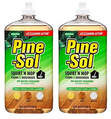 2 Pk, Pine-Sol Squirt 'N Mop, Original Scent, 32 Fl. Oz