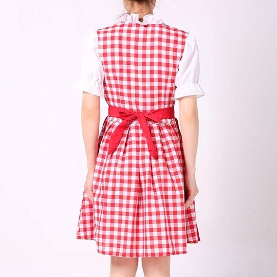 Amazon.com: Disfraz de Oktoberfest para mujer, de tirolesa ...