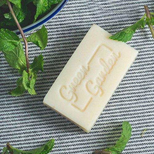 - Green Garden Peppermint Handmade Soap 3.5oz