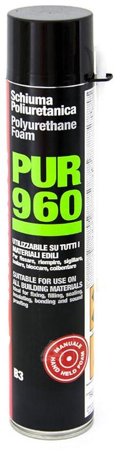 24 Espuma poliuretano B3 FRIULSIDER Pur 960 750 ml Manual