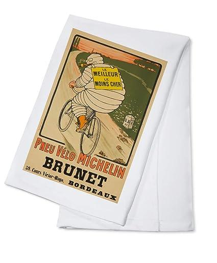 Amazon com: Michelin - Brunet Vintage Poster (artist: O'Galop