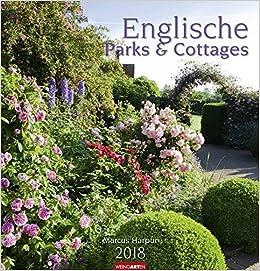 Englisches Cottage englische parks cottages kalender 2018 9783840071379 amazon