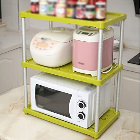 Kitchen Furniture - Estante Verde Cocina Microondas Horno ...