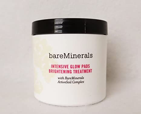 Bare Minerals Skincare Intensive Glow Pads Brightening Treatment 60 pads 3 Pack - LA PRAIRIE Skin Caviar Luxe Sleep Mask 1.7 oz