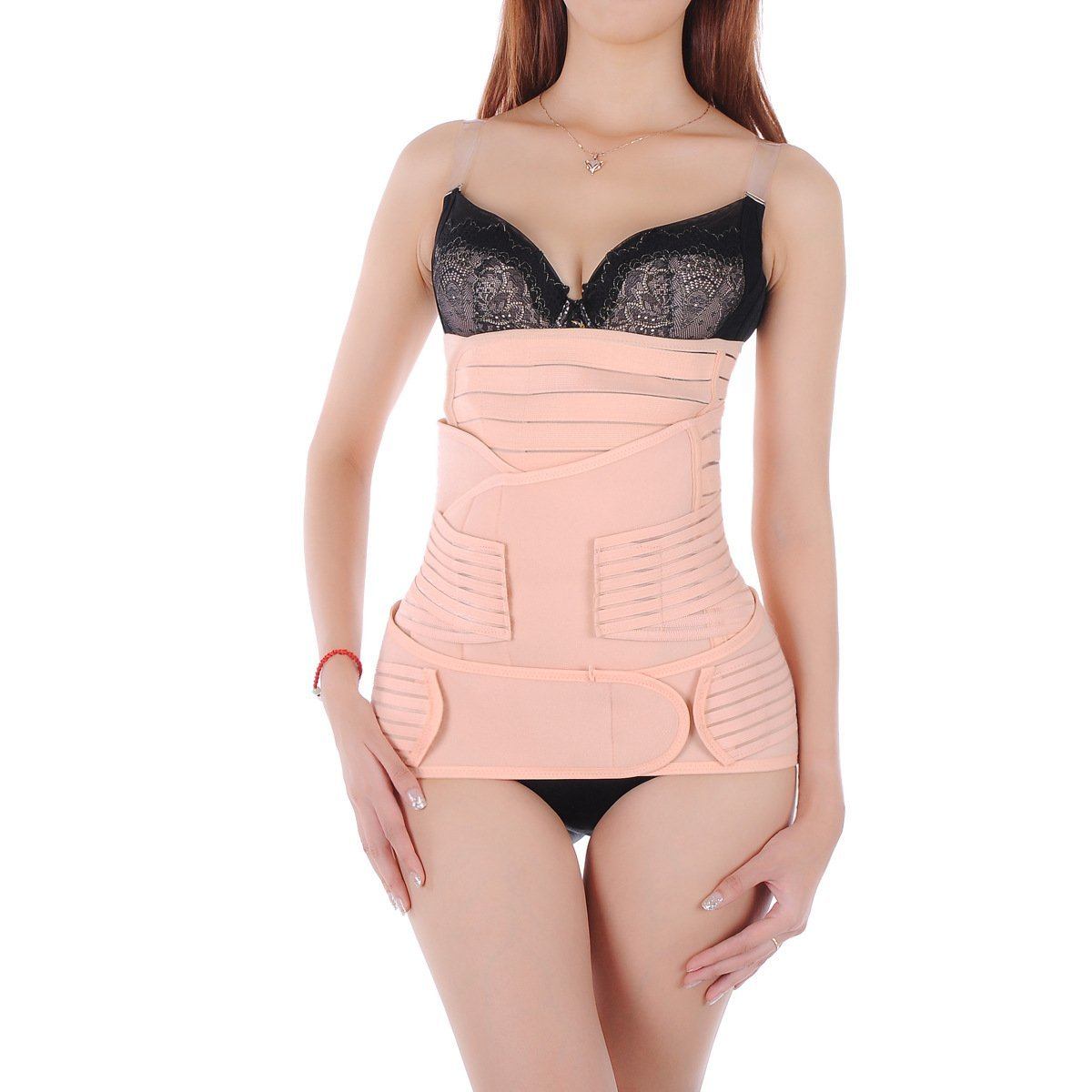 6ef14f26bb372 Akstore Women s 3-in-1 Postpartum Maternity Supports Shapewear Slimming Belt  (COMINSO5JUL71105)  Amazon.in  Clothing   Accessories