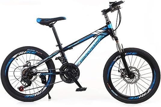KKLTDI Bicicleta Adulta,20 Pulgadas Niños Bicicleta De Montaña,Mujer Cruz Country Boy Bicicleta De Senderismo: Amazon.es: Deportes y aire libre
