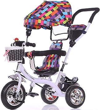 HJFGIRL Triciclos Niños 1-2-6 Años Bici Plegable Bicicletas ...