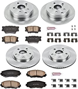 Autospecialty KOE4100 1-Click OE Replacement Brake Kit
