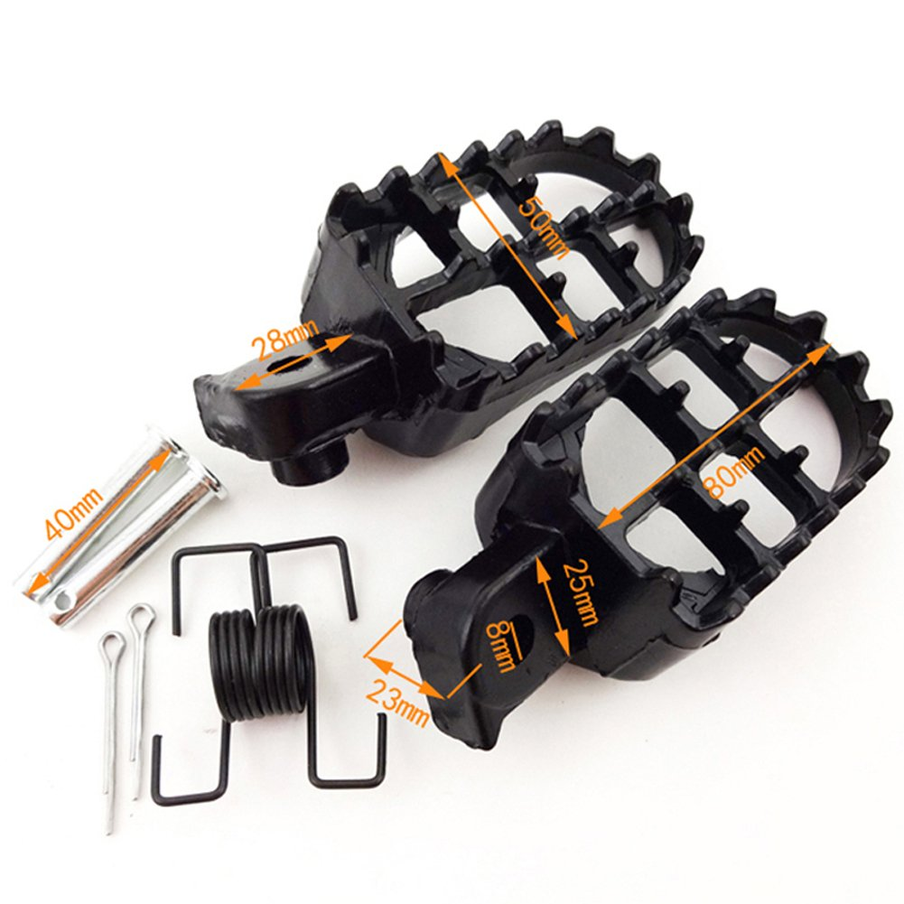 STONEDER Repose-Pieds Gear Shifter Levier pour Chinois Pit Bike Ycf IMR Atomik BSE Apollo Kayo GPX Braaap Lifan Yx JMC