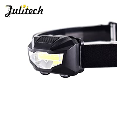 Julitech Led Lampe Frontale Plus Lumineux Lampe De Poche Haute
