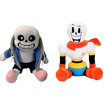 Sans Papyrus Undertale Plush Toys (Sans and Papyrus): Toys & Games