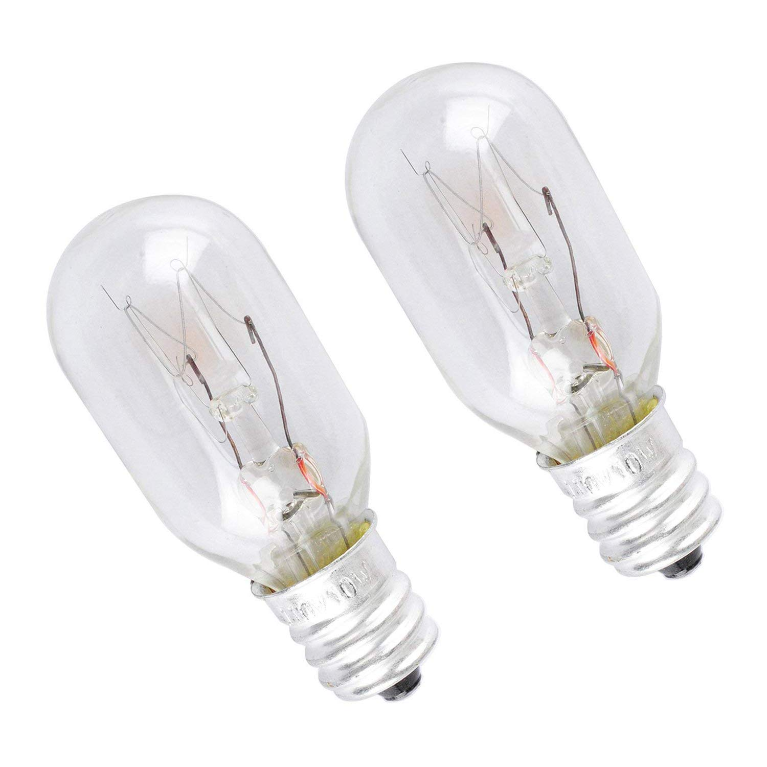 WE4M305 Dryer Light Bulb for General Electric/GE 10watt (2 pack)
