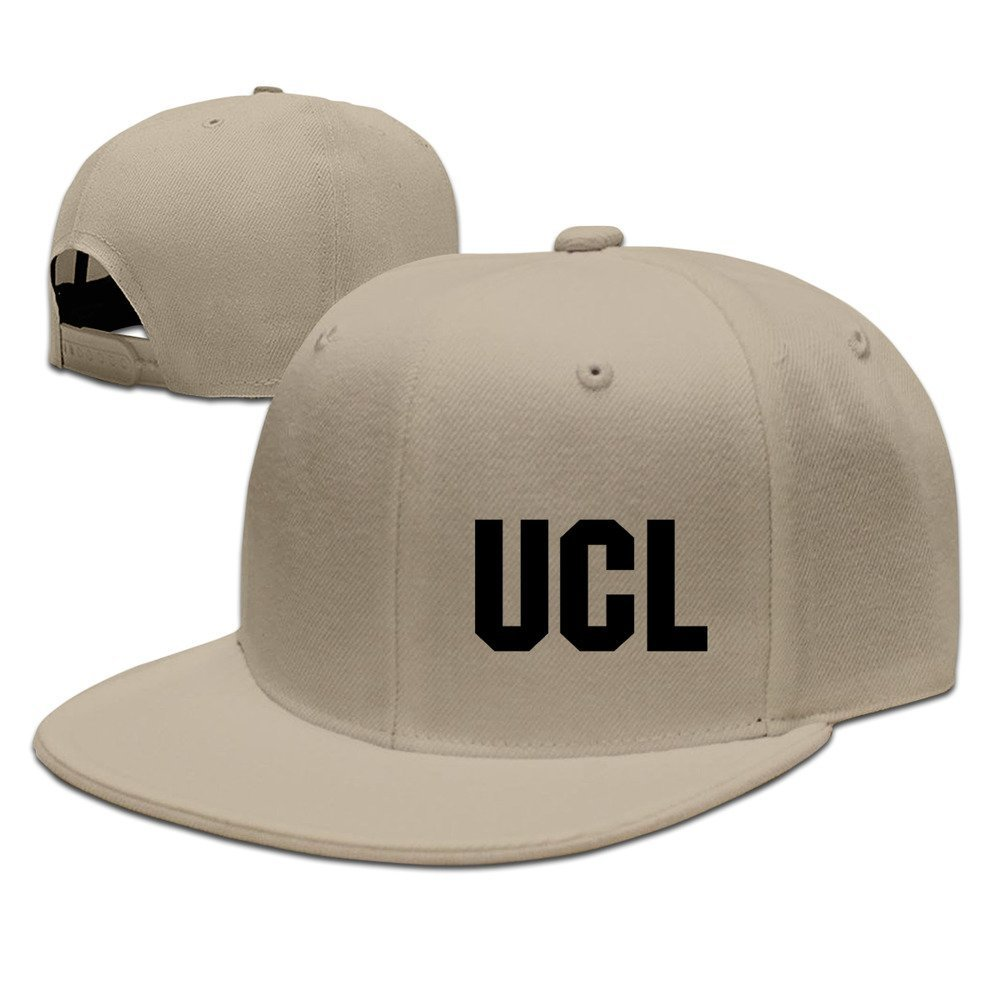 Hittings UCL Unisex Fashion Cool Adjustable Snapback Baseball Cap Hat One Size Natural